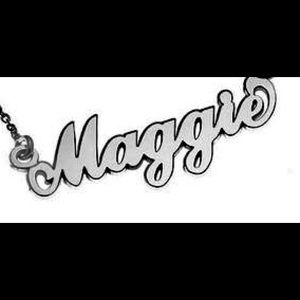 Jewelry - Sterling Silver name plate